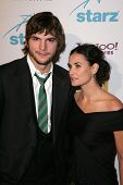 Ashton Kutcher and Demi Moore at the Hollywood Film Festival's 10th Annual Hollywood Awards Gala. Beverly Hilton Hotel, Beverly Hills, CA. 10-23-06