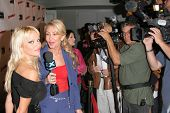 Pamela Anderson and Linda Thompson at the DVD Release of