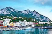 The Town Of Capri