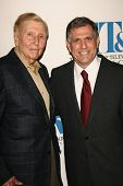 Sumner Redstone and Leslie Moonves at The Museum of Television & Radio's Annual Los Angeles Gala. Regent Beverly Wilshire Hotel, Beverly Hills, CA. 10-30-06
