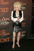 Dolly Parton at the CMT Giants honoring Reba McEntire. Kodak Theatre, Hollywood, CA. 10-26-06
