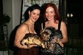 Jackie Watson and Phoebe Price at the first annual Beverly Hills Mutt Club Fashion and Halloween Show, Beverly Hills Mutt Club, Beverly Hills, CA 10-22-06