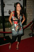 Nikki Soohoo at the first annual Beverly Hills Mutt Club Fashion and Halloween Show, Beverly Hills M