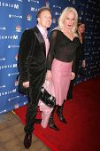 Alexis Arquette and guest at the NBC fall party for the hit drama
