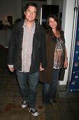 Jason Bateman and Amanda Anka at the NBC fall party for the hit drama