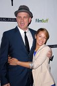 Mike O'Malley, Vanessa Lengies at the