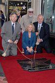 Leron Gubler, Carole King, Lou Adler, Tom LaBonge at the Carole King Hollywood Walk Of Fame Ceremony, Hollywood, CA 12-03-12