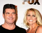Simon Cowell, Britney Spears at The X-Factor Viewing Party, Mixology, Los Angeles, CA 12-06-12