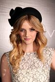 Lydia Hearst at the Rodeo Drive Walk Of Style Honoring BLVGARI, Rodeo Drive, Beverly Hills, CA 12-05