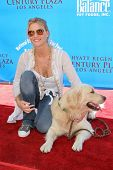 CENTURY CITY - OCTOBER 19: Nicolette Sheridan at the kick off for
