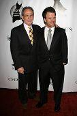 BEL AIR, CA - NOVEMBER 18: Ron Rifkin and Kevin Weisman at the 5th Annual