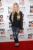 Danika Yarosh at the NOH8 Campaign 4th Anniversary Celebration, Avalon, Hollywood, 12-12-12