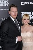 Chris Pratt, Anna Farris at the