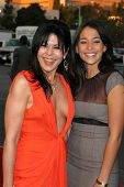 WESTWOOD, CA - NOVEMBER 05: Maria Conchita Alonso and Natalie Martinez at a Special Presentation of
