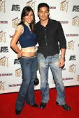 LOS ANGELES - NOVEMBER 7: Monica Allgeier and Nicholas Gonzalez at The Hollywood Reporters Next Gene