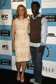 LOS ANGELES - NOVEMBER 28: Felicity Huffman and Don Cheadle at the 2007 Film Independent's Spirit Aw