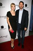LOS ANGELES - NOVEMBER 15: Kate Winslet and Todd Field at the New Line Cinema's