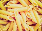 Retro Look Pasta Picture