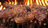 Grilled Beef Steaks.
