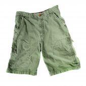 Green Camping Shorts