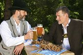 Two Bavarian Men