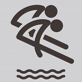 Synchronized Diving Icon
