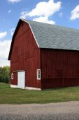Red Midwestern Barn