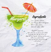 Margaret cocktails watercolor