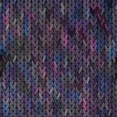 Knitted vector Seamless Fabric Pattern
