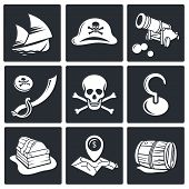 Pirates Icon Set