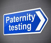 Paternity Test Concept.