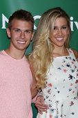 LOS ANGELES - JUL 14:  Chase Chrisley, Savannah Chrisley at the NBCUniversal July 2014 TCA at Beverl
