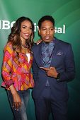 LOS ANGELES - JUL 14:  Michelle Williams, Deitrick Haddon at the NBCUniversal July 2014 TCA at Bever
