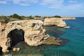 coastal landscape at Salento Peninsula
