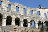 Ancient Roman Amphitheater Pula