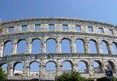 Pula Roman Amphitheater Croatia