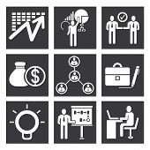 organization icons, management icons