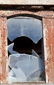 Wooden Wall Of Old Destroyed House
