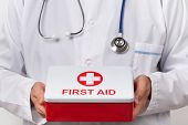 Doctor With First Aid Kit