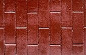 Red Brown Brick Background