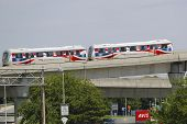 JFK Airport AirTrain in New York