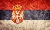 Serbia grunge flag. Vintage, retro style. High resolution, hd quality. Item from my grunge flags collection.