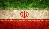Iran grunge flag. Vintage, retro style. High resolution, hd quality. Item from my grunge flags collection.