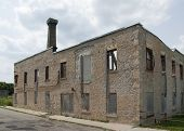 Preserved old Factory in Elora, Canada