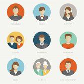 Vector company avatars