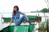 Beautiful Girl Travel In Rostov