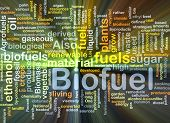 Biofuel Fuel Background Concept Glowing