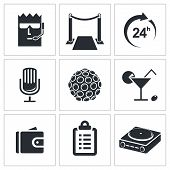 Night Club icon collection