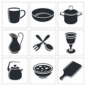 Tableware Icon Collection