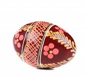 Easter egg with ornament.